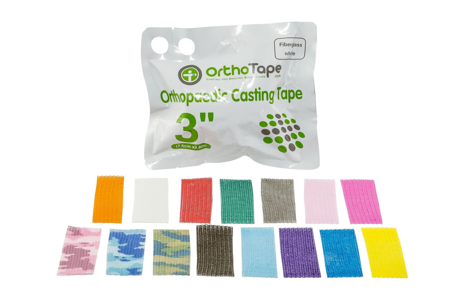 OrthoTape Fibreglass Casting Tape 7 cm (1 Roll)